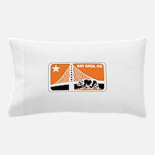major league bay area orange Pillow Case