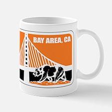major league bay area orange Mug