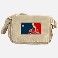 major league california bear plain Messenger Bag
