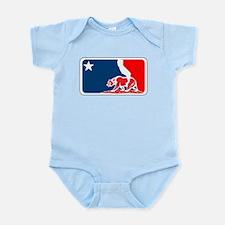 major league california bear plain Body Suit