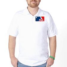major league california bear plain T-Shirt