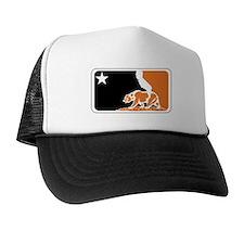 major league bay area orange plain Trucker Hat