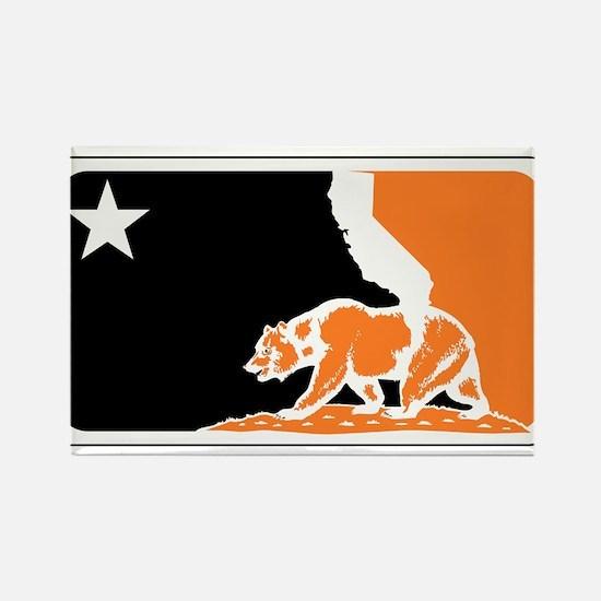 major league bay area orange plain Rectangle Magne