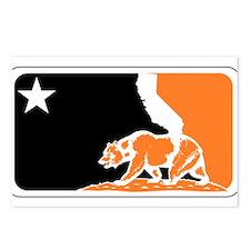 major league bay area orange plain Postcards (Pack