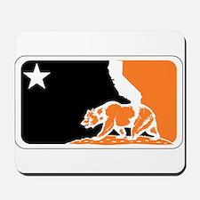 major league bay area orange plain Mousepad