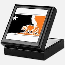 major league bay area orange plain Keepsake Box
