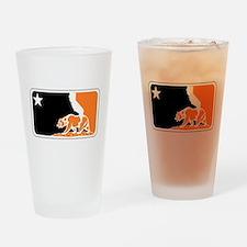 major league bay area orange plain Drinking Glass