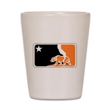 major league bay area orange plain Shot Glass