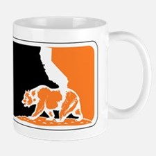 major league bay area orange plain Mug