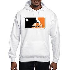 major league bay area orange plain Hoodie