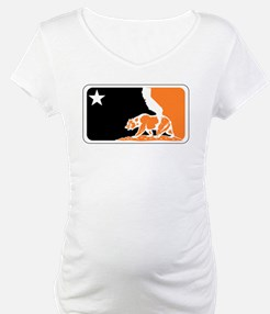 major league bay area orange plain Shirt