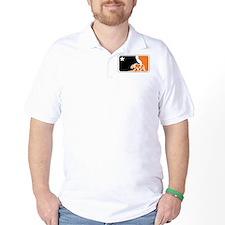 major league bay area orange plain T-Shirt