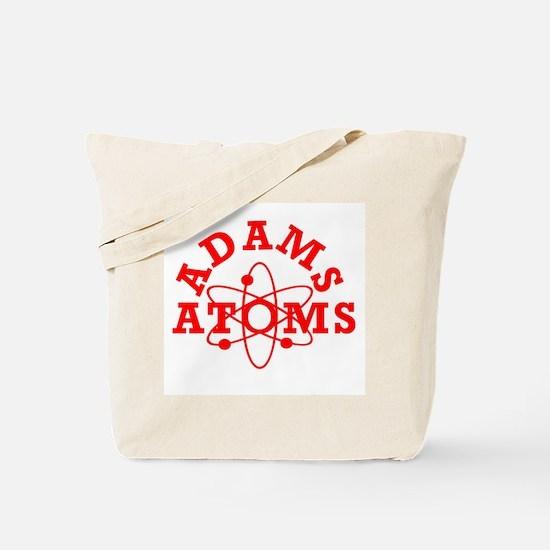 Adams Atoms Tote Bag