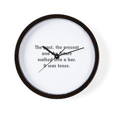 It was tense. Wall Clock