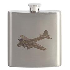 Vintage B-17 Flask