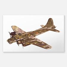 Vintage B-17 Decal