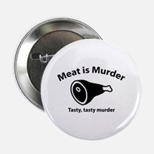 "Meat is Murder 2.25"" Button (10 pack)"