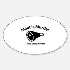 Meat is Murder Decal