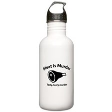 Meat is Murder Water Bottle