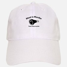 Meat is Murder Baseball Baseball Cap