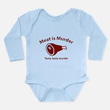 Meat is Murder Long Sleeve Infant Bodysuit