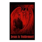 Dark Wizard Jesus is Voldemort Postcards