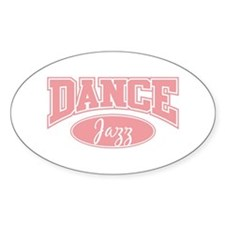 Jazz Oval Decal