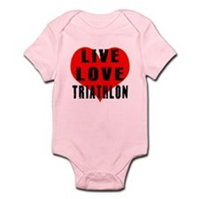 Live Love Triathlon Infant Bodysuit