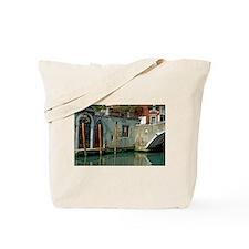 Orange Poles in Venice Tote Bag