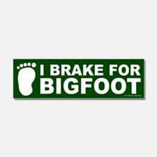 I Brake For Bigfoot Green (magnet)