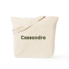 Cassandra Spring Green Tote Bag