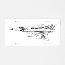 Dassault Aluminum License Plate