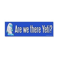 Are We There Yeti (magnet)