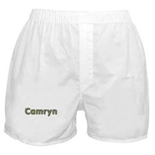 Camryn Spring Green Boxer Shorts