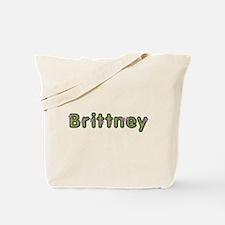 Brittney Spring Green Tote Bag