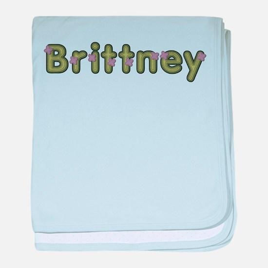 Brittney Spring Green baby blanket