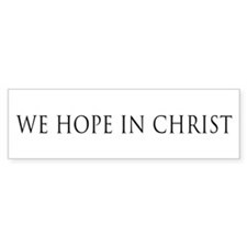 We Hope in Christ (white)