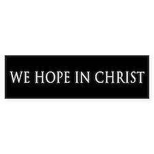We Hope in Christ (black)