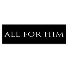 All for Him (black)