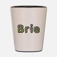 Brie Spring Green Shot Glass