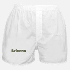 Brianne Spring Green Boxer Shorts