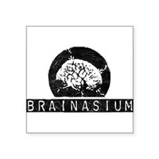 Brainasium Rectangle Sticker