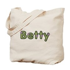 Betty Spring Green Tote Bag