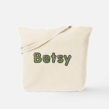 Betsy Spring Green Tote Bag