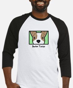 Anime Brindle Boston Terrier Baseball Jersey