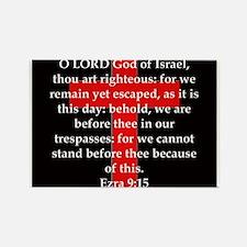 Ezra 9:15 Rectangle Magnet (10 pack)