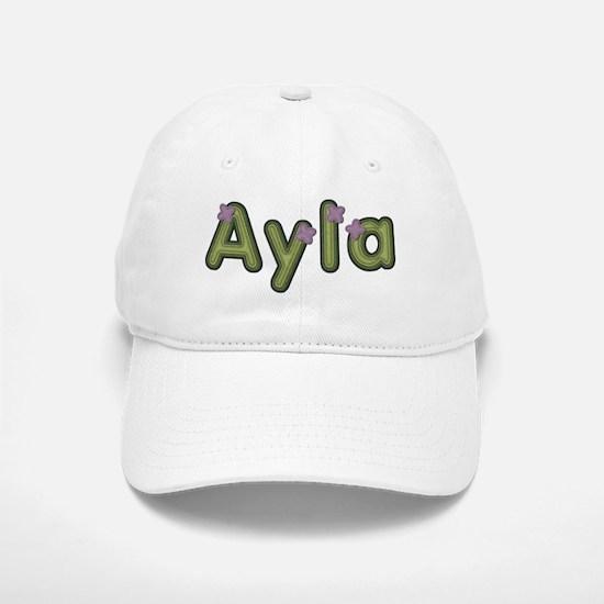 Ayla Spring Green Baseball Cap