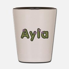 Ayla Spring Green Shot Glass