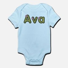 Ava Spring Green Body Suit
