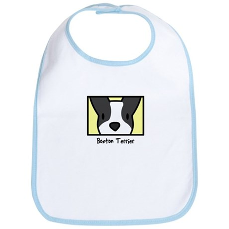 Anime Boston Terrier Bib